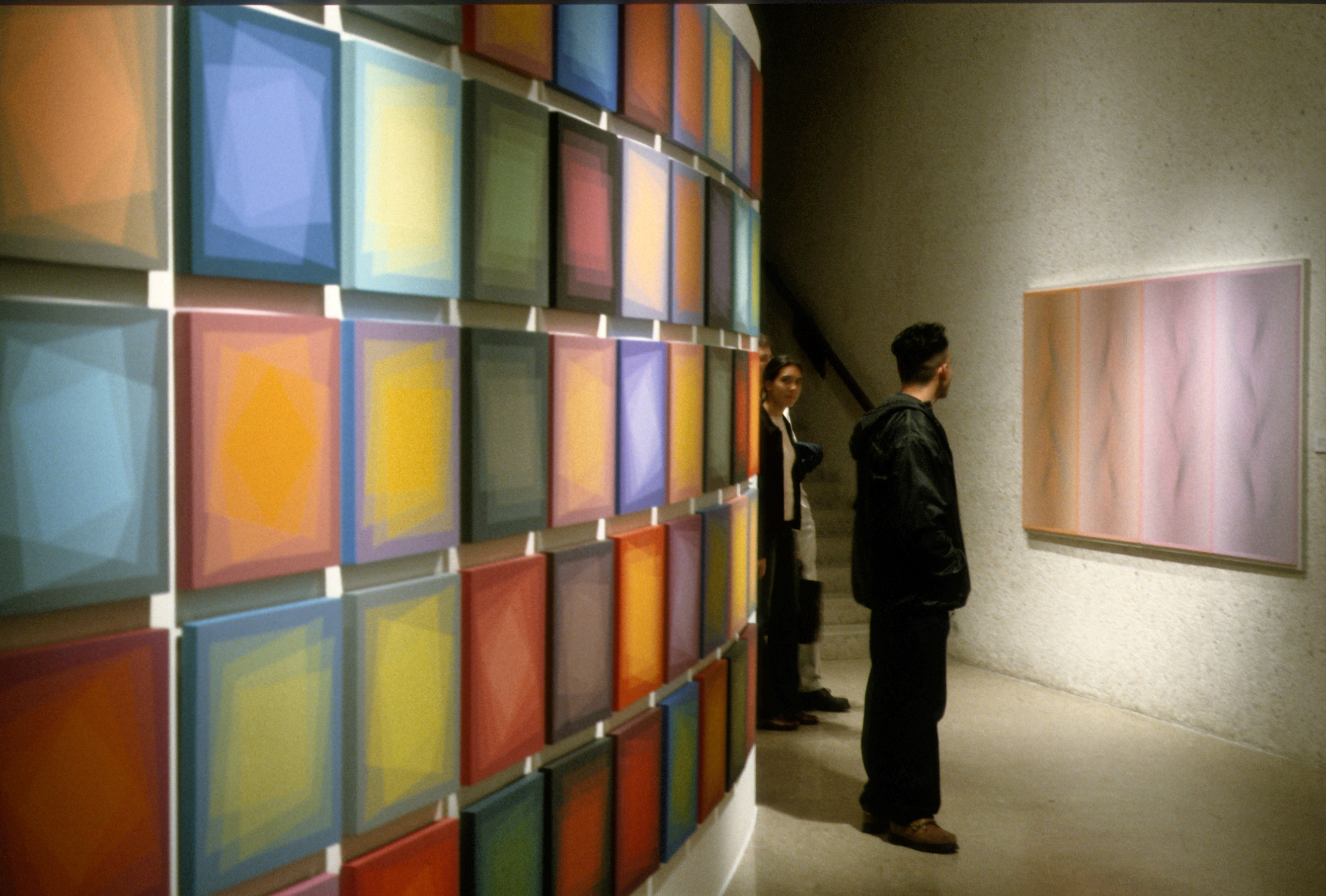 2004 exhibition entitled 'Julian Stanczak: Op Art Painting' at the South Texas Institute for the Arts