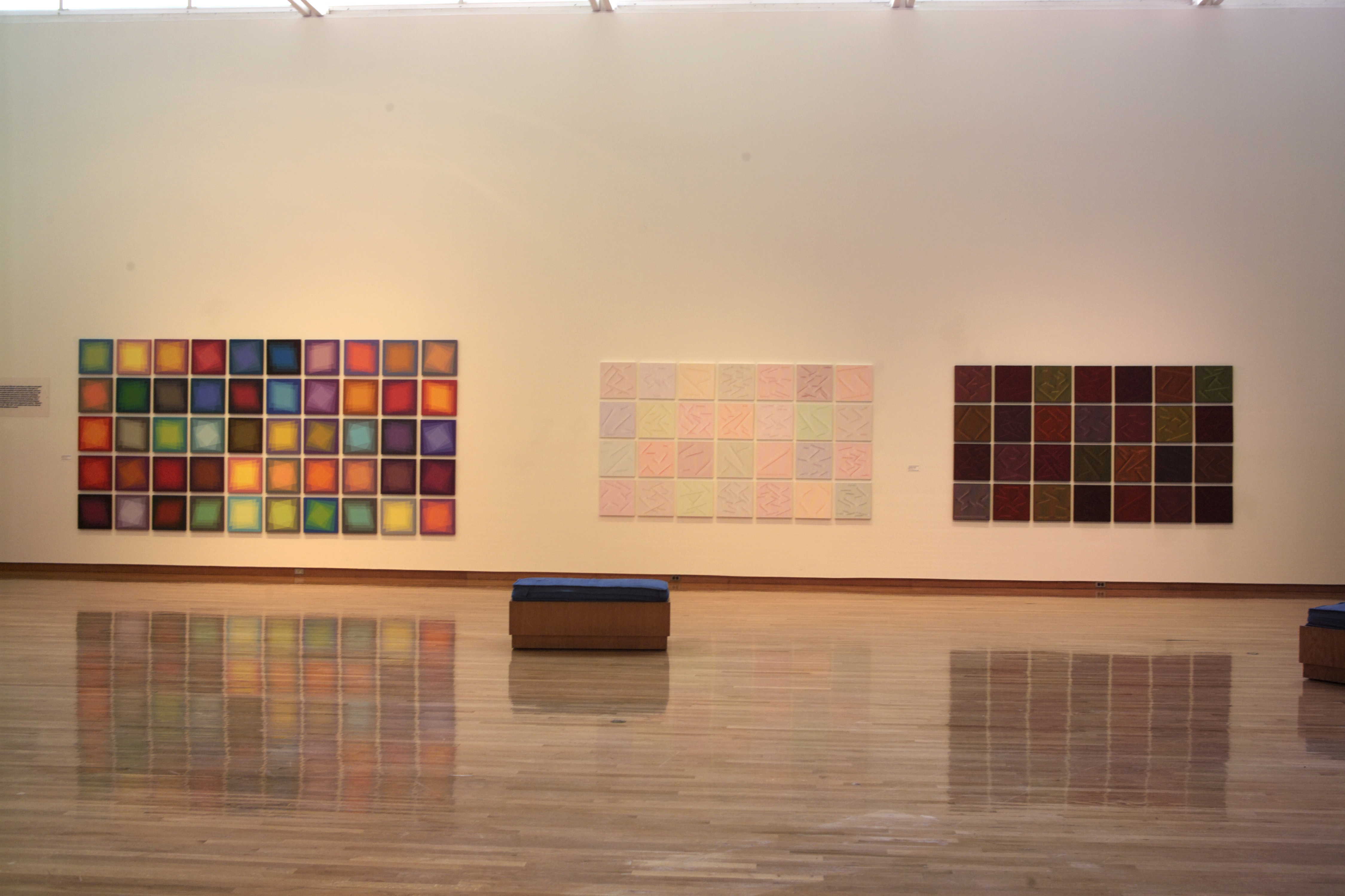 Paintings from Optical Reaction: The Art of Julian Stanczak (50 Year Retrospective)